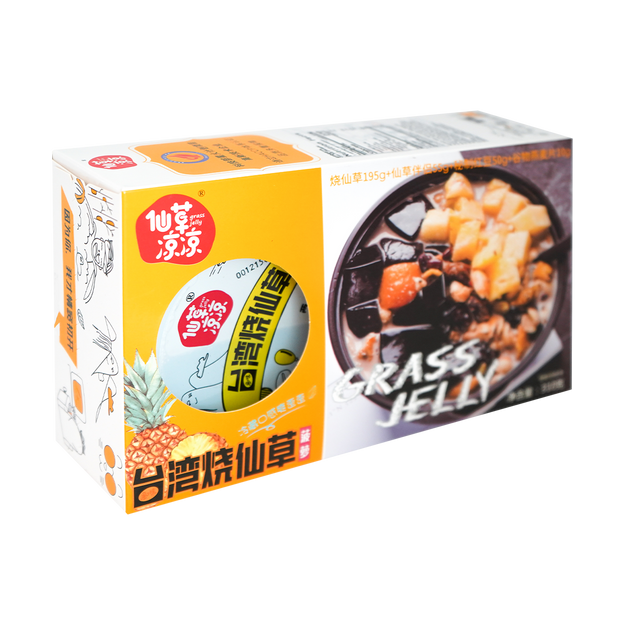 Product Detail - XIANCAO BRAND Grass Jelly Sweet Soup Pineapple Flavor 310g - image 0