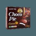 韩国LOTTE乐天 棉花糖夹心可可巧克力派 12个装