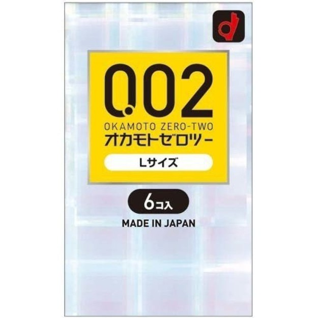 Product Detail - OKAMOTO 0.02 EX Polyurethane Condoms #Large Size 6pcs - image  0