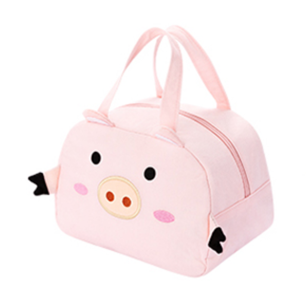 Product Detail - Miniso Cute Animal Lunch Bag #Little Pig - image 0