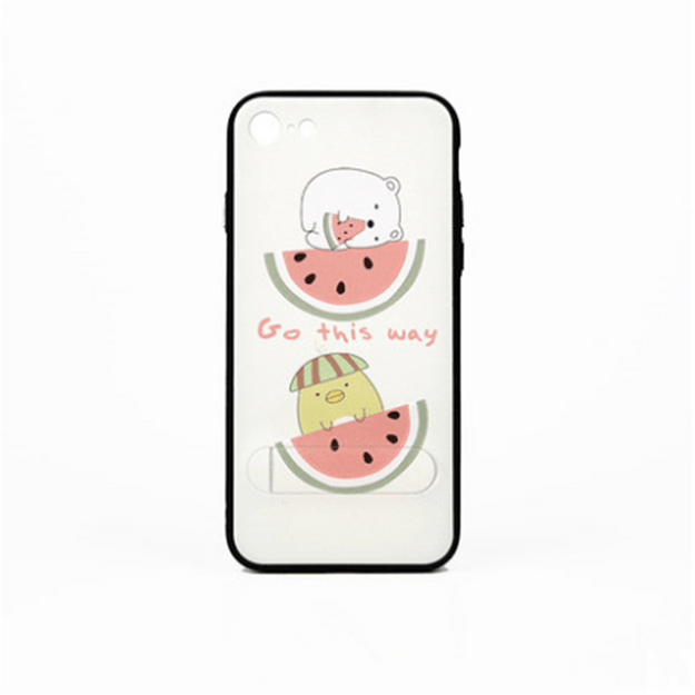 Product Detail - MAOXIN Relief Crafts Cute Pet Party Series Apple Cell Phone Case For iPhone7 / iPhone8 Watermelon Lover 1PC - image 0