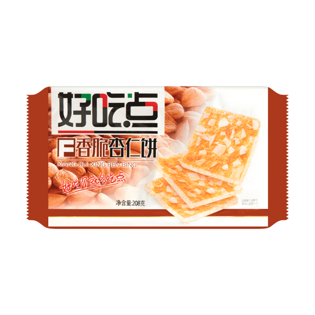 Product Detail - DALI HAOCHIDIAN Almond Biscuit 208g - image 0