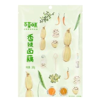BE & CHERRY Spicy Lotus Root 180g