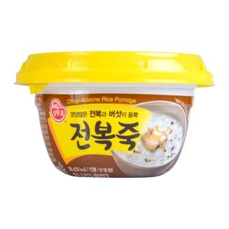 韩国OTTOGI不倒翁 营养美味鲍鱼粥 2分钟即食 1人份 285g