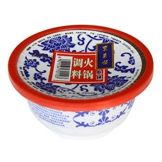 东来顺 火锅调料蘸料 麻辣味 200g 北京老字号