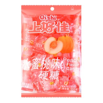 OISHI上好佳 水蜜桃味硬糖 100g