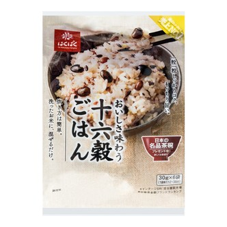 日本KOKUTOTSU 16种类营养谷物混合米饭 免洗 30gx6包入 180g