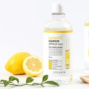 KOREAN IT'S SKIN Lemon' C Squeeze Ampoule Toner 500ml
