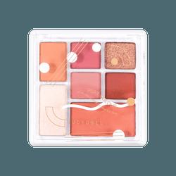 橘朵JUDYDOLL 七色玩具组合眼影盘 #09慕斯玫瑰盘 小红书热门色号 干枯玫瑰色