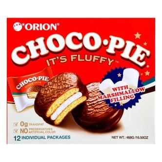 韩国ORION好丽友 巧克力派 12枚入