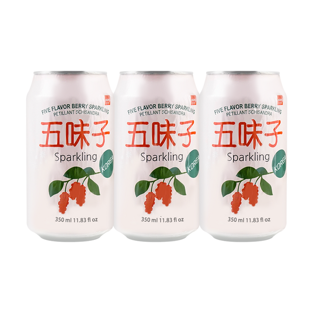 Product Detail - WANG Schisandra Five-Flavor Berry Sparkling Water 350ml*6 - image 0