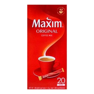 韩国MAXIM麦馨 三合一速溶原味咖啡 20条入 236g