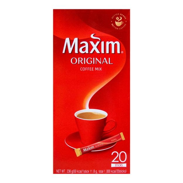 商品详情 - 韩国MAXIM麦馨 三合一速溶原味咖啡 20条入 236g - image  0
