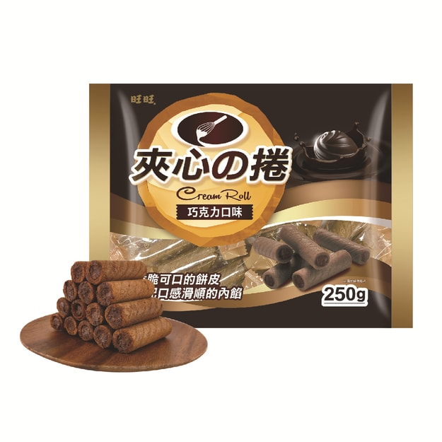 WANT WANT Wafer Sticks Chocolate 250g