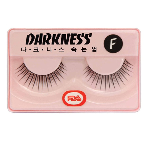 Product Detail - DARKNESS False Eyelashes #F 1Pair In 1Box - image 0