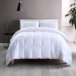Premium Down European White Down Comforters 233TC Year-Round Warmth Hypoallergenic Queen