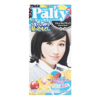 日本DARIYA PALTY 亮泽持久染发剂 #Natural Black