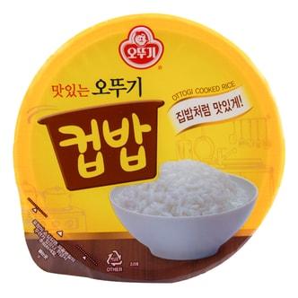 韩国OTTOGI不倒翁 韩式传统美味速食牛骨汤饭 171g 碗装