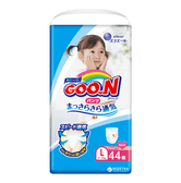 GOO.N Baby Diaper Soft Pants for Girls Type L Size 9-14kg 44Pcs