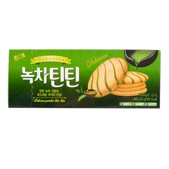 韩国HAITAI 绿茶薄饼 84g