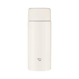 ZOJIRUSHI 象印||高保温保冷防漏螺旋杯盖不锈钢保温杯TUFF SMZA||白色 360ml