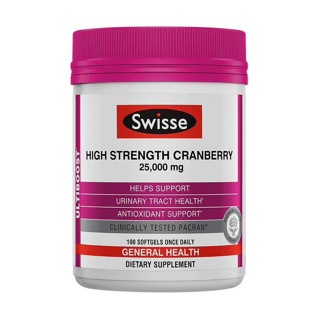 Product Detail - SWISSE UB HS CRANBERRY 100 capsules - image 0