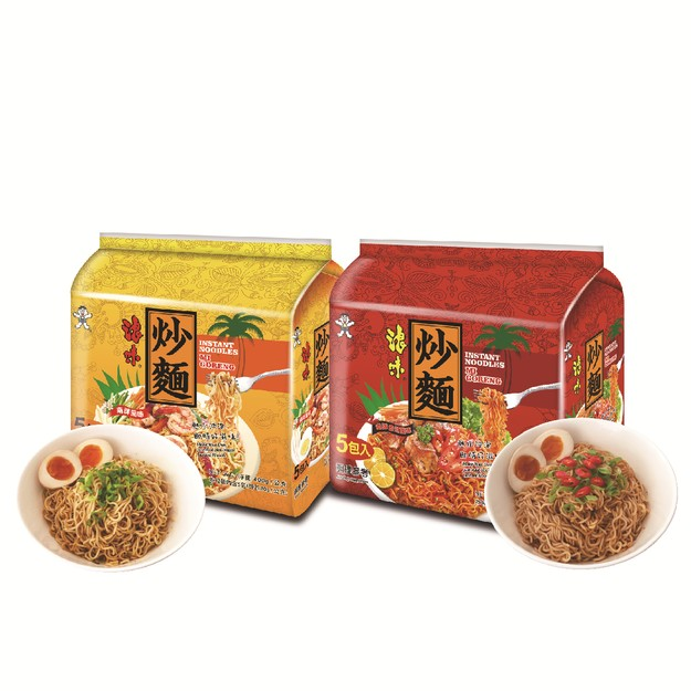 Product Detail - Taiwan WANT WANT Instant Fried Noodles Original Spicy Flavor 2bags 800g - image 0