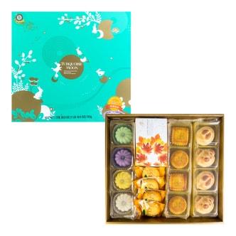 台湾ISABELLE伊莎贝尔 月之幻采 综合月饼 礼盒装 763g