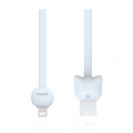MAOXIN Vitality Cat Series USB Cable For iPhone Blue