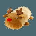 名创优品MINISO 圣诞系列 圆柱麋鹿毛绒公仔