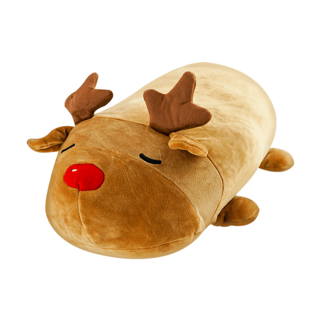 Product Detail - Christmas Series Cylindrical Elk Plush Doll - image  0