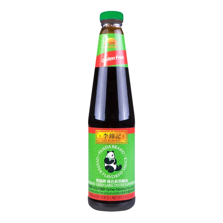 LEE KUM KEE Green Label Oyster Flavored Sauce 510g - Yamibuy.com