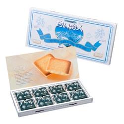 【日本直邮】日本白色恋人 北海道白巧克力夹心薄饼 24片