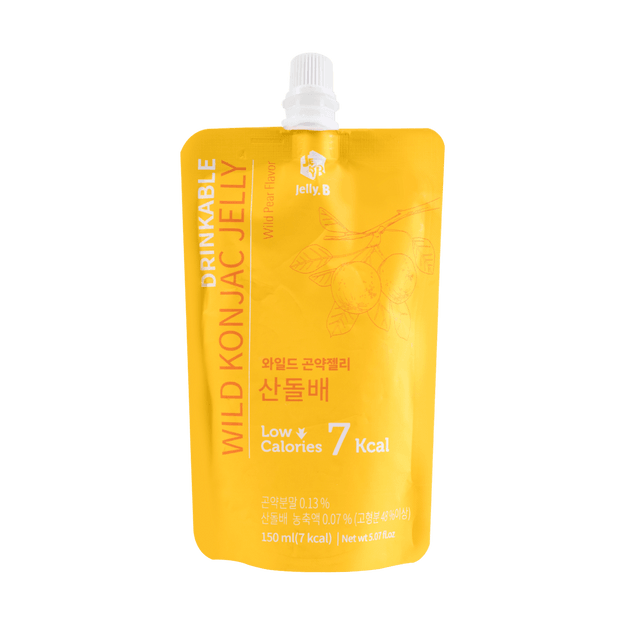Product Detail - Jelly B. Konjac Drink Wild Pear Flavor Low Calories Drink 150ml - image 0