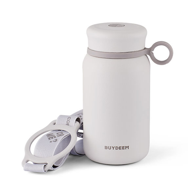 Product Detail - Vacuum Insulated Stainless Steel Water Bottle, Travel Mug, 300ml, Pure White - image  0