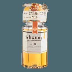 日本&HONEY 蜂蜜保湿无硅油洗发水 440ml
