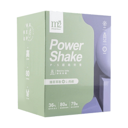 M2 Power Shake Matcha Latte 8pk/box
