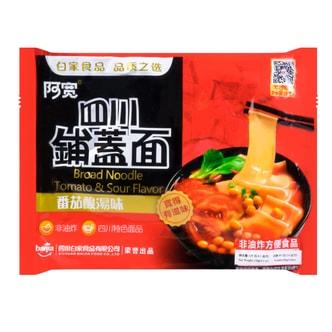 白家陈记 阿宽四川铺盖面 番茄酸汤味 120g