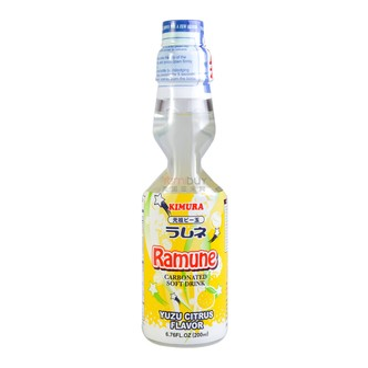 KIMURA Ramune Soda Yuzu Citrus Flavor 200ml