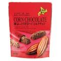 【日本直邮】北海道夕张名物  北海道限定 HORI高钙牛奶巧克力棒 10枚装 红色