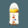 PIGEON 贝亲||母乳实感宽口耐热塑料奶瓶||160ML 小象图案