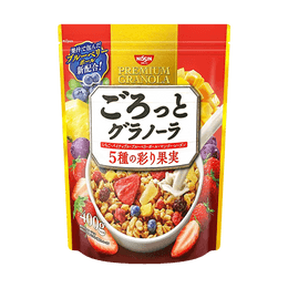 NISSIN CISCO Granola Mixed Fruit 400g