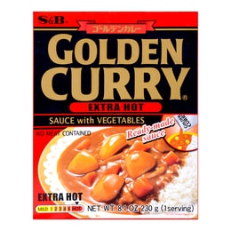 S&B Curry Golden Retort Extra 230g