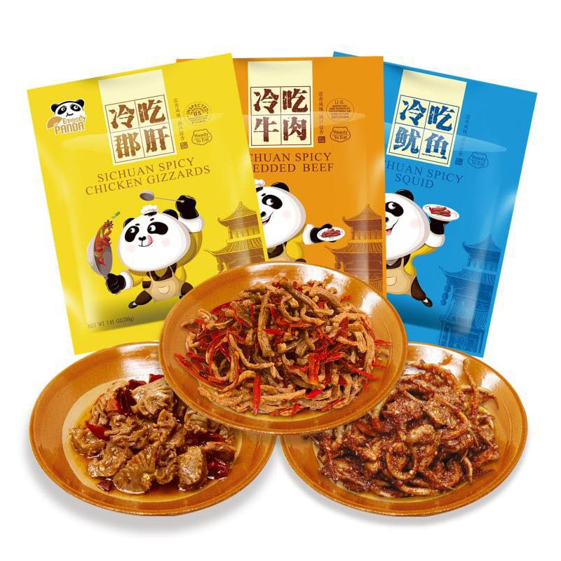 GreedyPanda Spicy Snacks Bundle