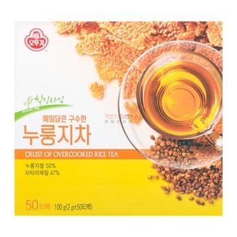 韩国OTTOGI不倒翁 锅巴茶 2g*50包入