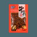【辣味精选】与美 红油牛肉干 麻辣味 100g USDA认证