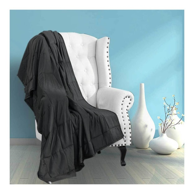 "Product Detail - MERRYLIFE Weighted Blanket(48""72\""S 12lbsGREY) - image 0"