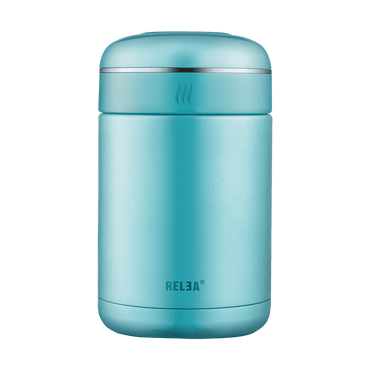 RELEA Stainless Steel Food Jar Container 540ml Baby Blue