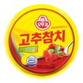 韩国OTTOGI不倒翁 金枪鱼罐头 香辣味 150g