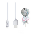 MAOXIN Lollipop Model iPhone Data Cable/Charging Cable Grey